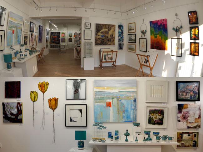 Eagle art gallery in Bedford