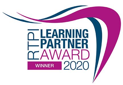 RTPI Learning Partner Award 2020 winner
